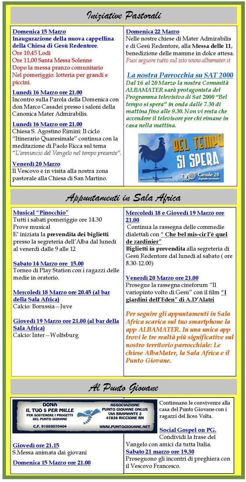 Newsletter 13-03-15