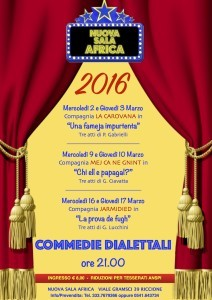commedie 2016