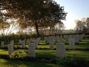 Visita al cimitero inglese