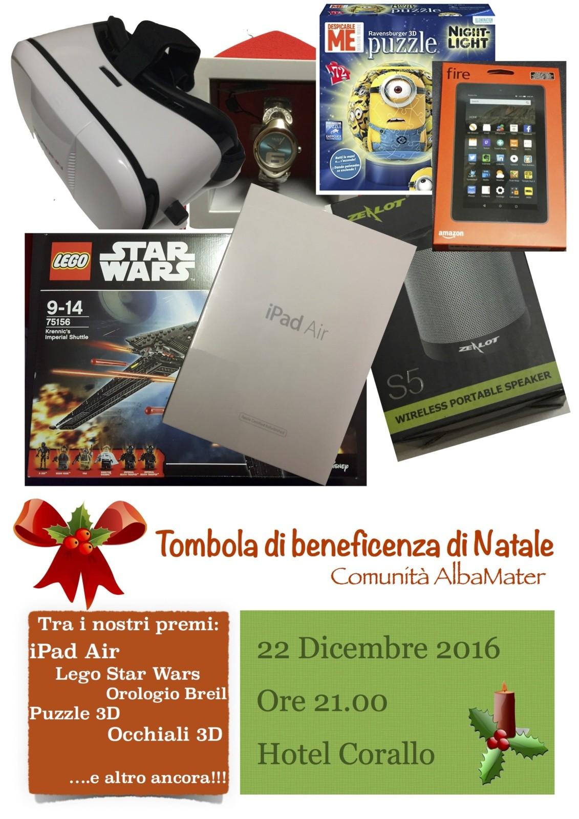 Tombola Natale 2016